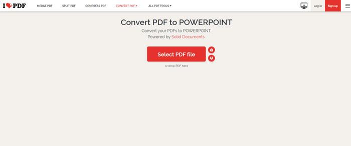 แปลงไฟล์ PDF เป็น Powerpoint
