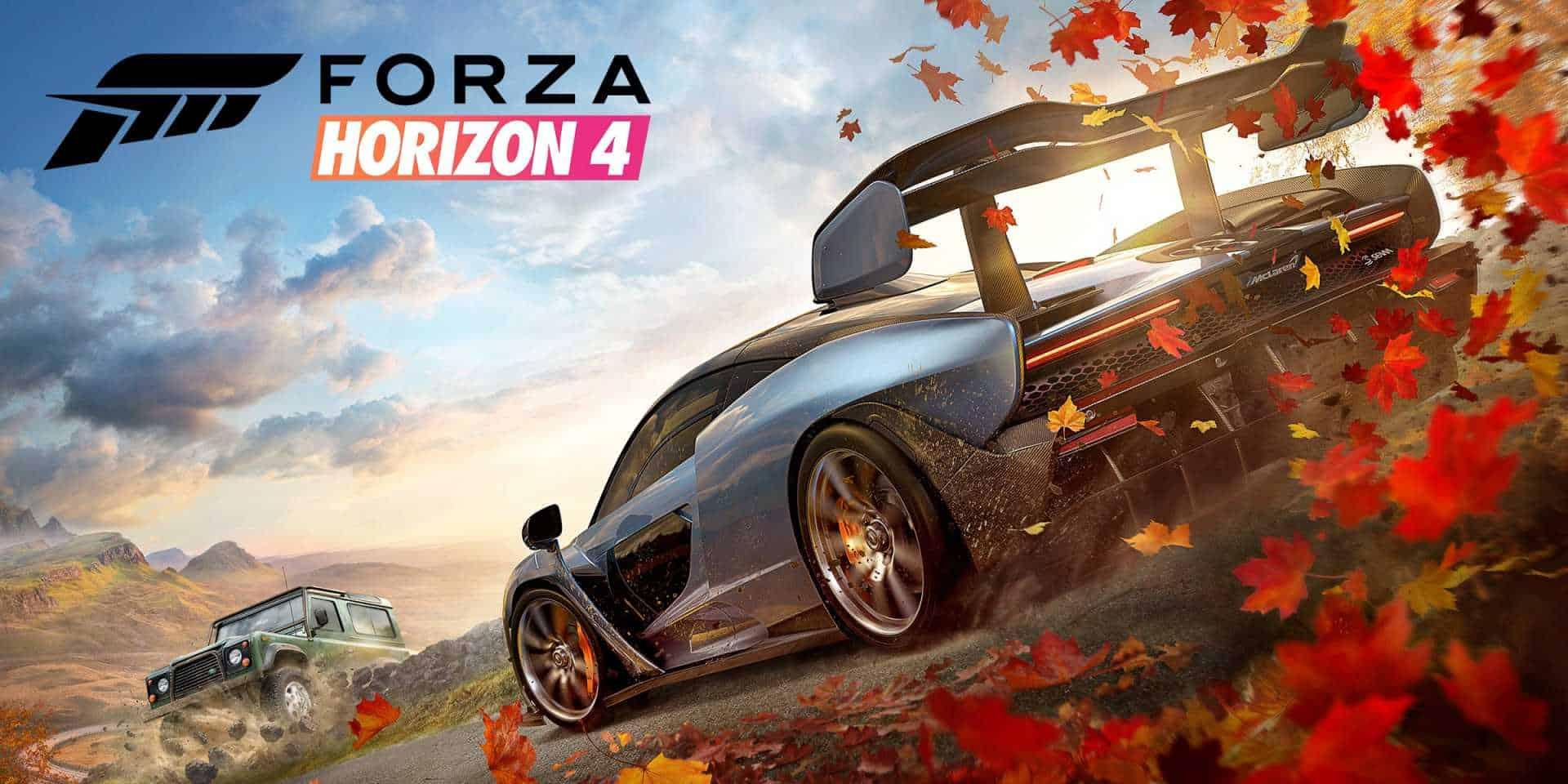 แนะนำเกมส์ PC 2021 Forza-Horizon-4